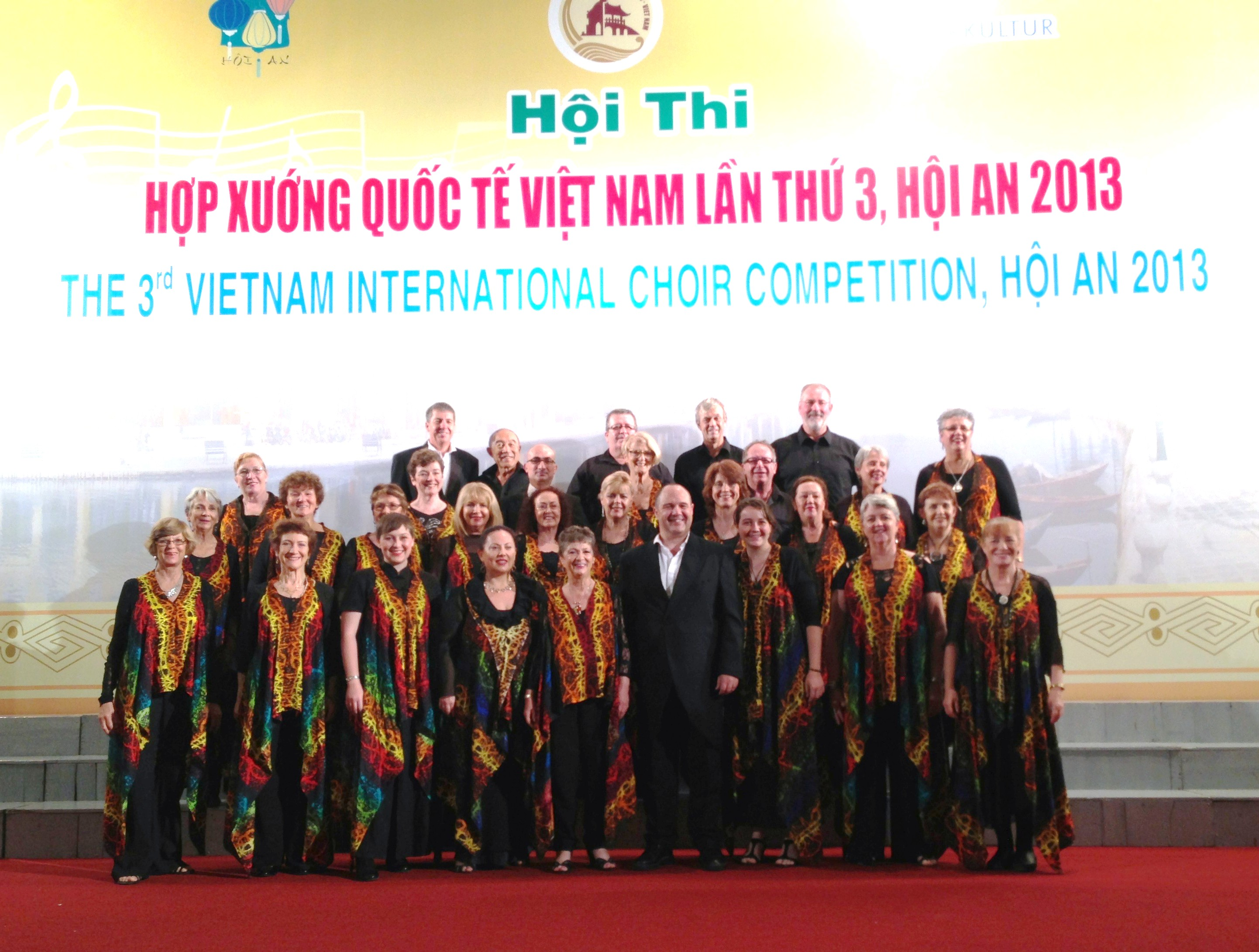 Voice Weavers On Stage in Vietnam