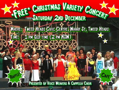 FREE CHRISTMAS VARIETY CONCERT